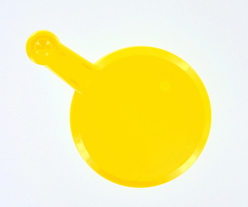 Glass Cover - Yellow