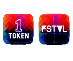 Festival Tokens - Full color print