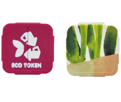 Eco Festival Tokens - Full color print & 1 color print