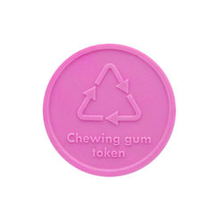Chewing gum Token : Round - Personalized & Standard Designs