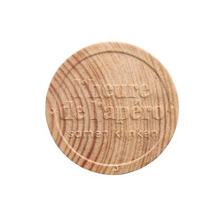 Wooden Token - Embossed - Personalized